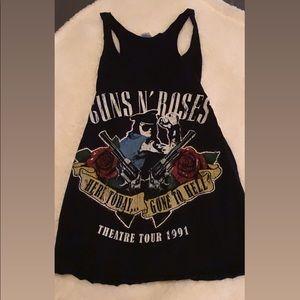Guns and roses tank top